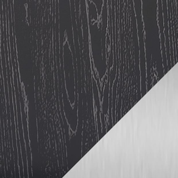 Charcoal Stained Ash / Satin Nickel