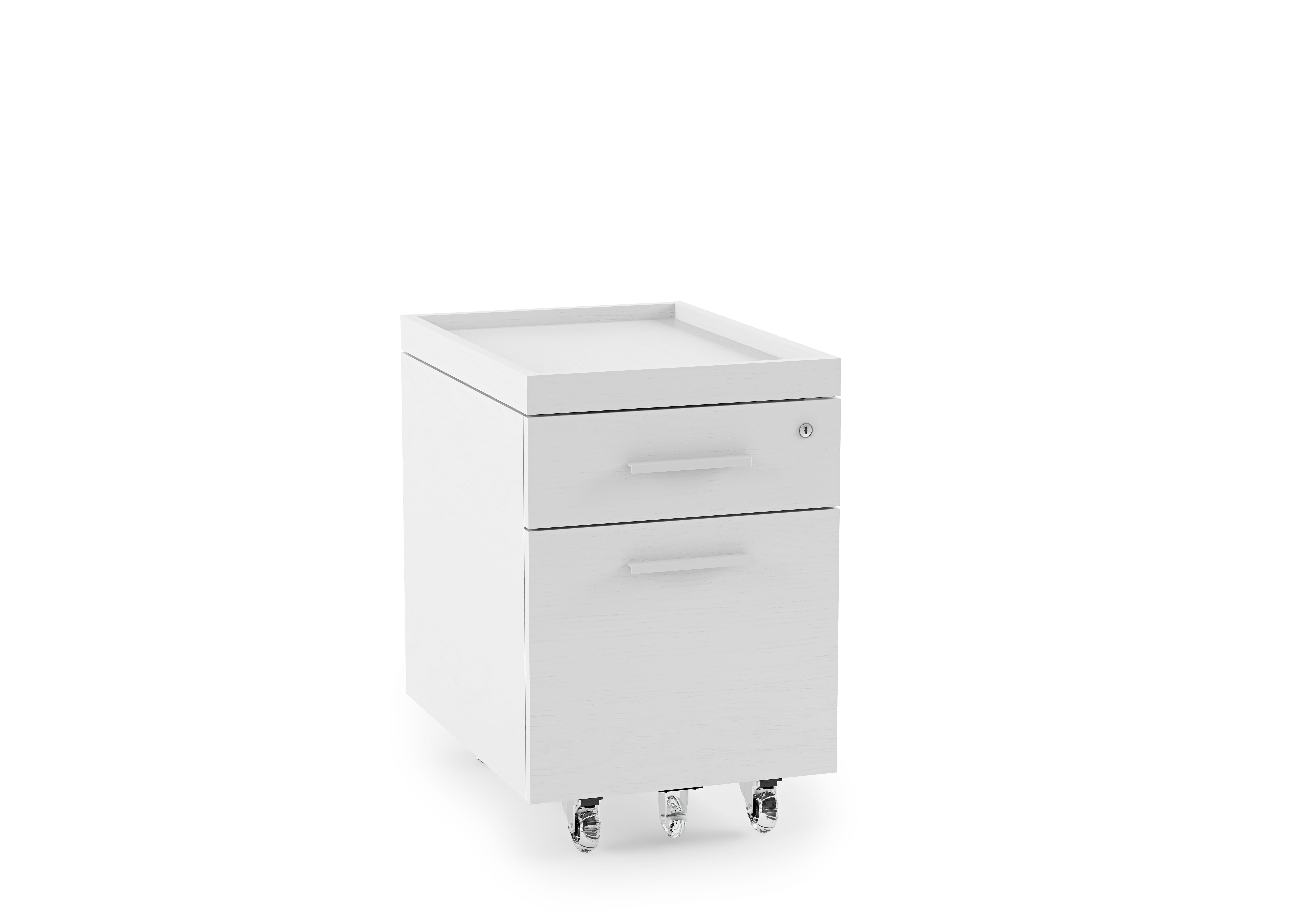 Centro Office File Cabinet 6401 White 3