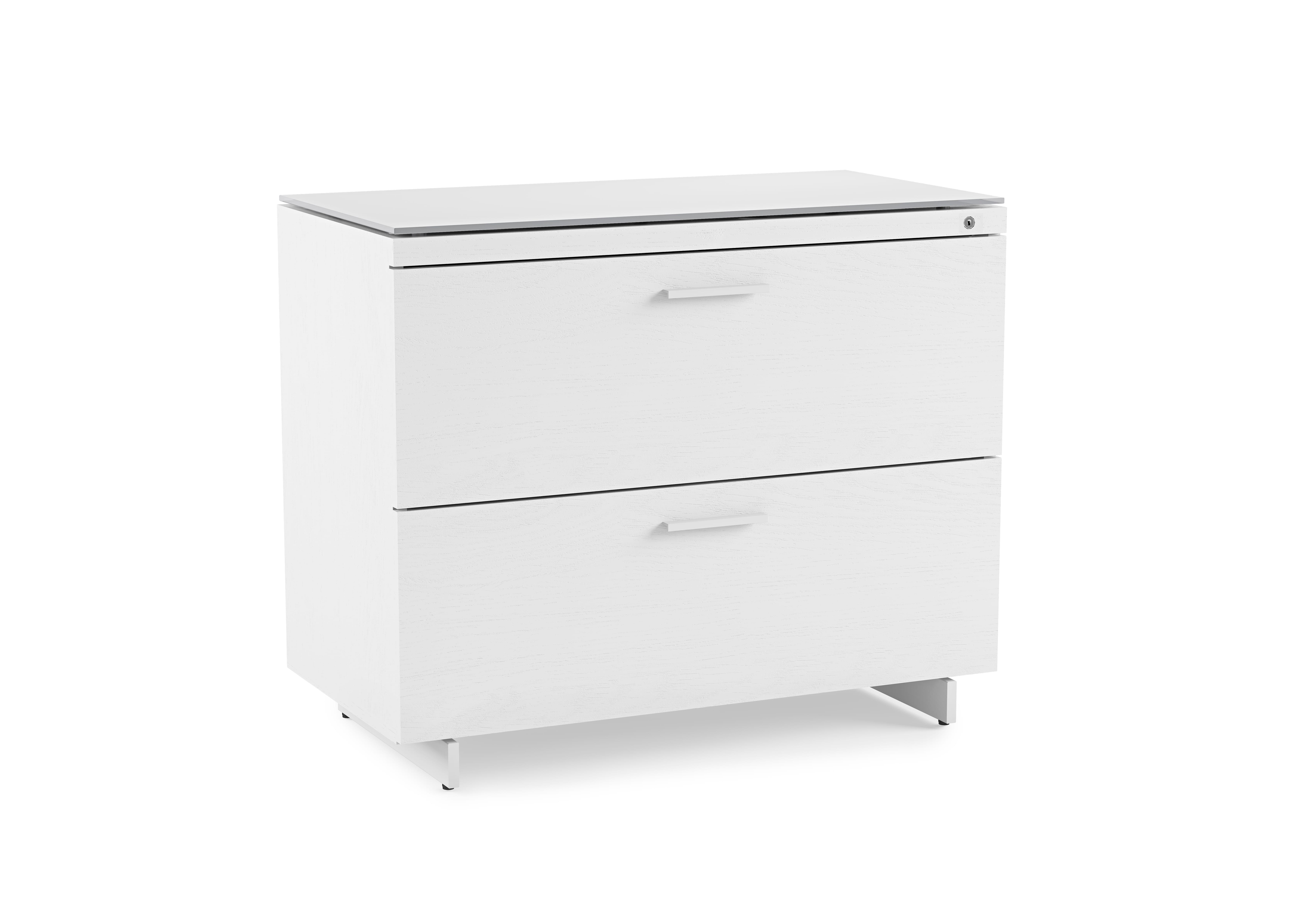Centro 6416 Office File Cabinet White