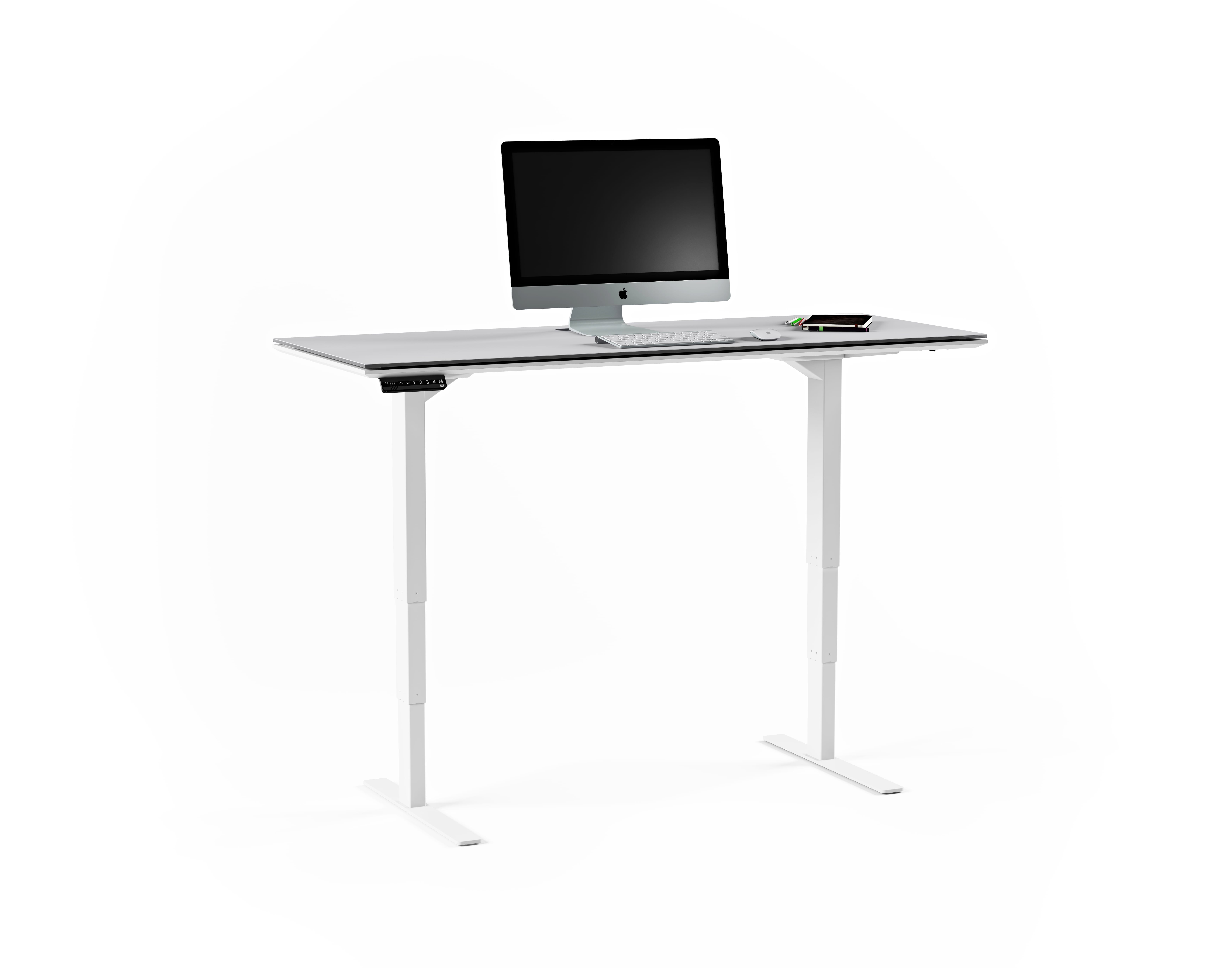 Centro 6451 Standing Desk White 1