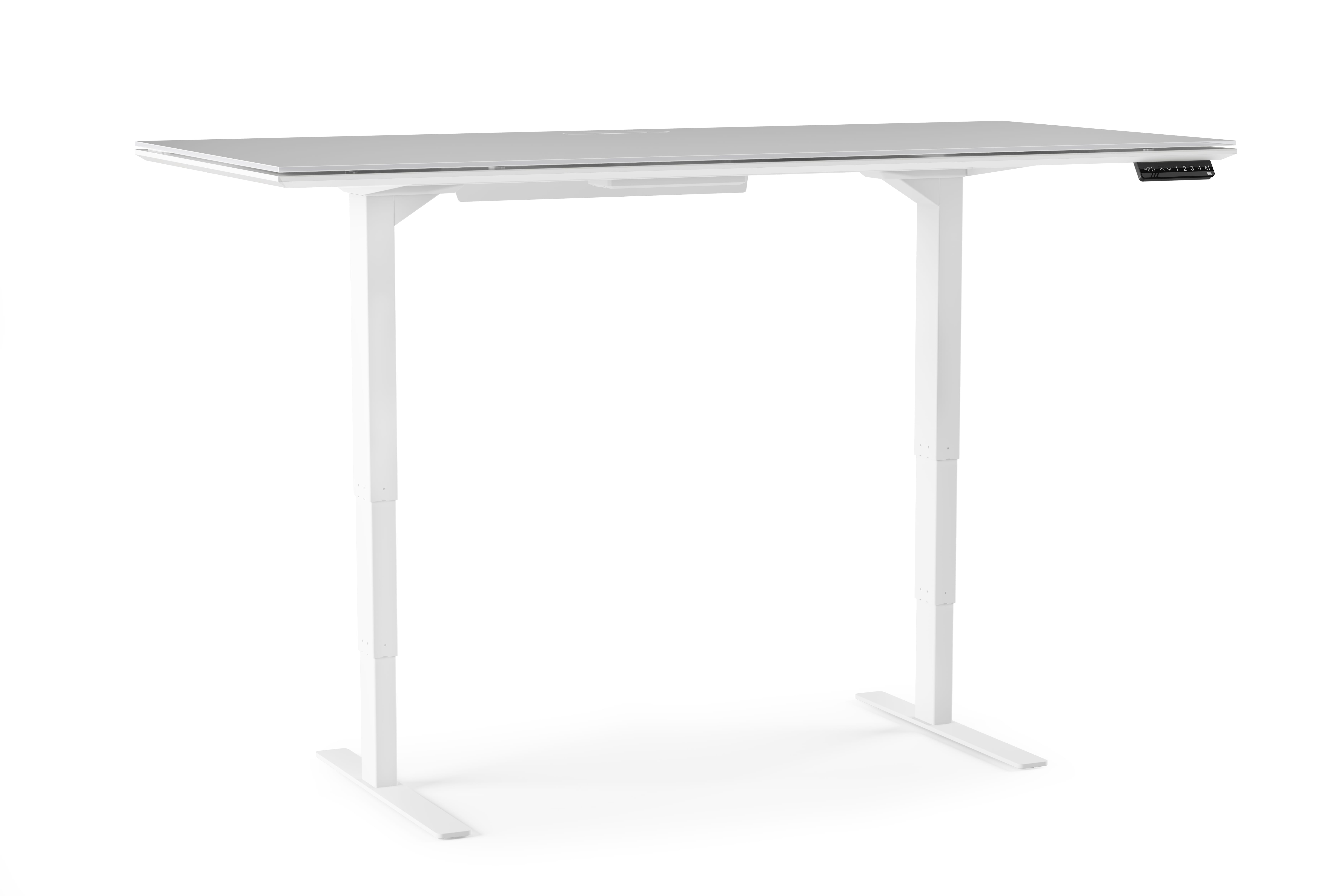 Centro 6452 Office Standing Desk White