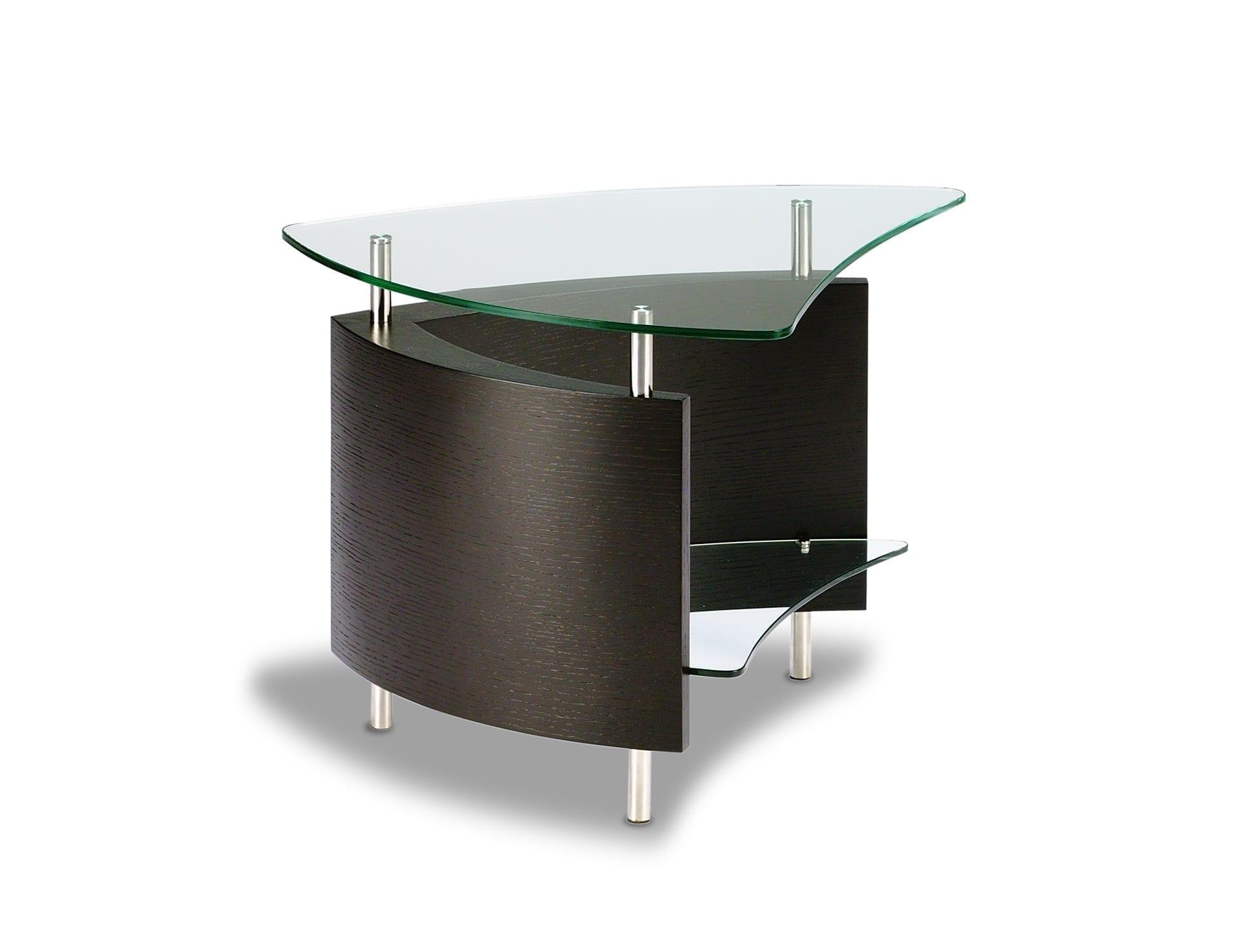 Fin 1110 Modern Glass End Table ES