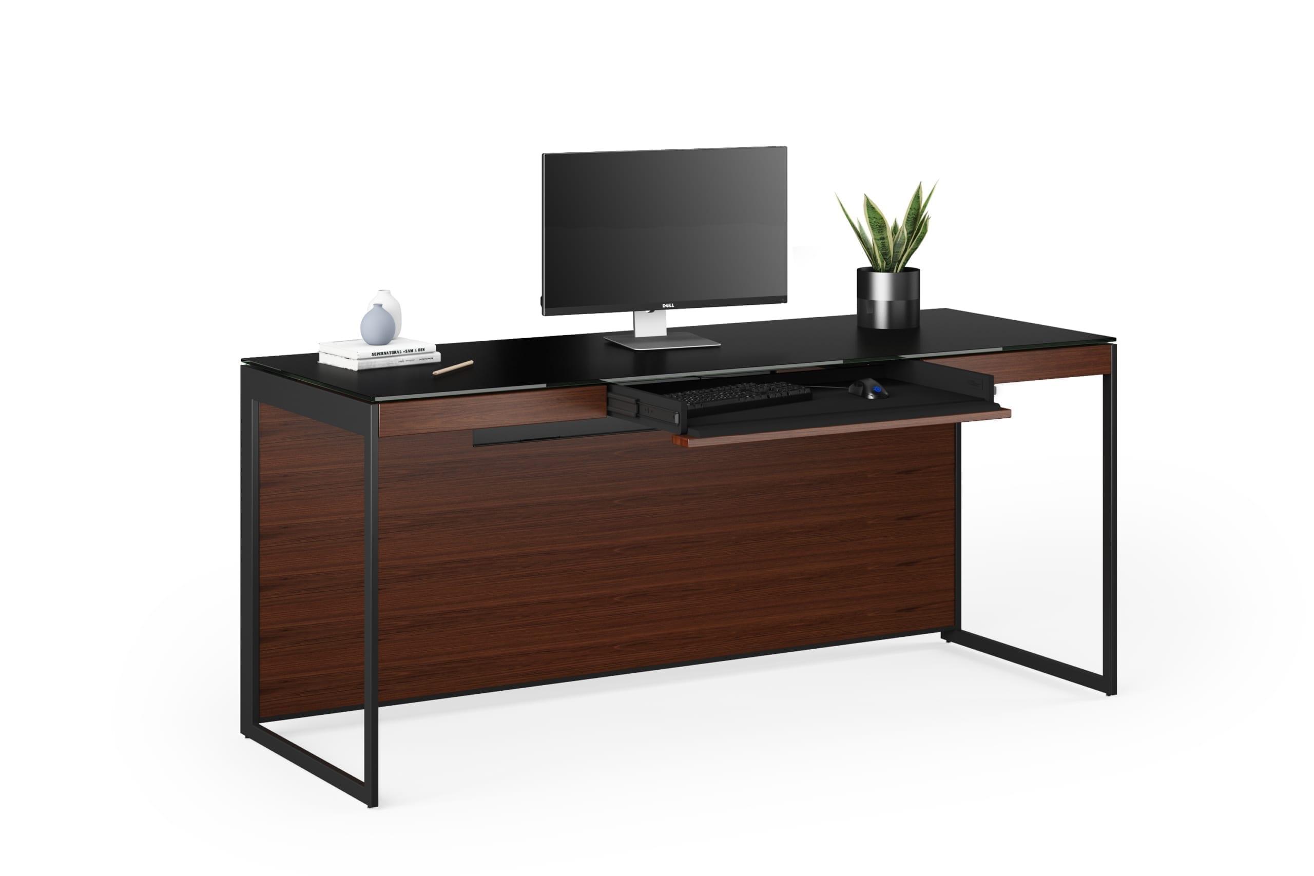 Sequel 20 6101 Desk Black / Chocolate Walnut 1