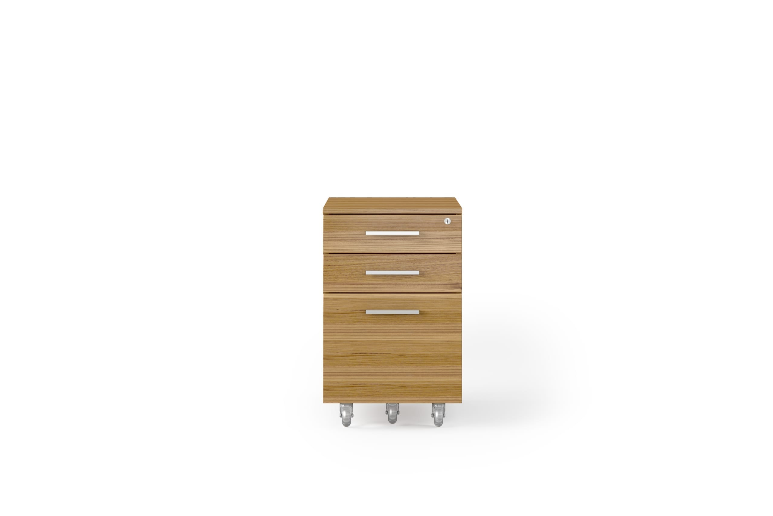 Sequel 6107 Low Mobile Storage & File Cabinet WL SN 1