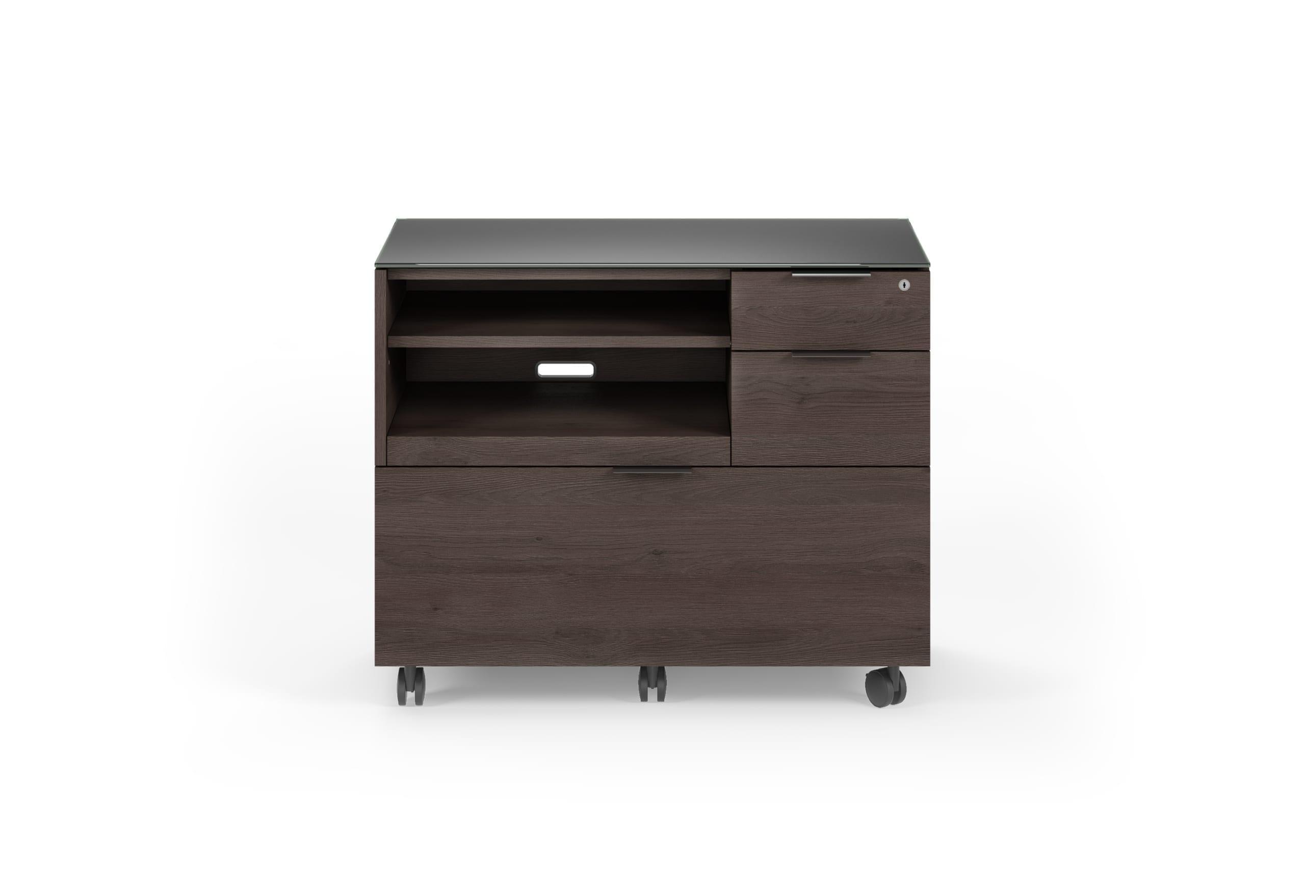 Sigma Desk Cabinet 6917 Sepia 1