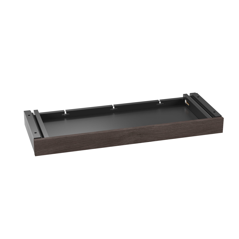 Stance Lift Desk 6659 Drawer Sepia